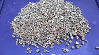 getlinkyoutube.com-Palladium & Silver recovery from MLCC's