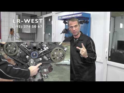 Замена ремня ГРМ на дизельном двигателе 3.0 TD Ленд Ровер Дискавери 4, Рендж Ровер Спорт.