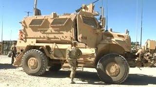 getlinkyoutube.com-Американские бронеавтомобили MaxxPro и M-ATV в Афганистане / MRAP