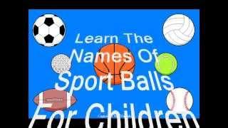 getlinkyoutube.com-Sport Balls For Children Learn The Names Of 7 Different teaching Aid home school equipment