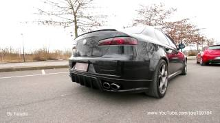 getlinkyoutube.com-Alfa Romeo 159 1.9 JTD with AutoDelta Exhaust Sound