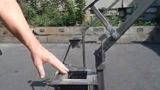 getlinkyoutube.com-Пресс для топливных брикетов модернизированный