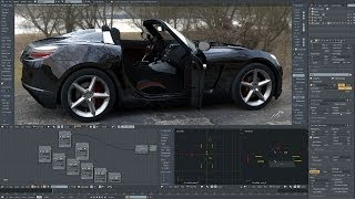 Opel GT | Real time rendering on Titan