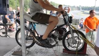 Simson 105ccm Membran Prüfstand - Harzring 2014
