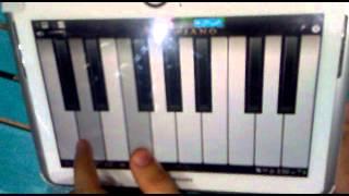 getlinkyoutube.com-تعلم عزف موسيقى( تايتنك)بواسطه الموبايل.