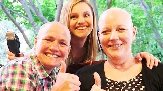 SISTERS STICK IT TO CANCER width=