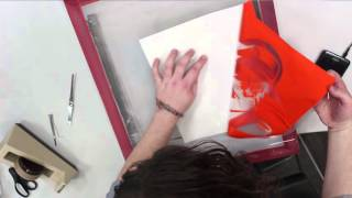 Screen Printing with the Vinyl Cutter