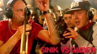 getlinkyoutube.com-Sinik vs Gaiden - Clash (Official Video)