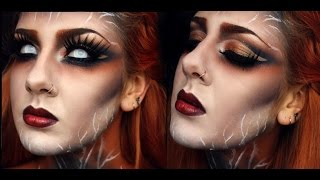 getlinkyoutube.com-Lady Thunder - Halloween Tutorial by MakeArt with MakeUp