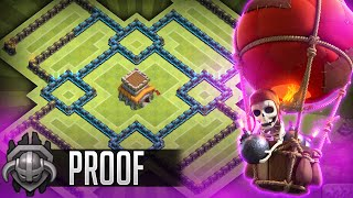 getlinkyoutube.com-Clash of Clans - NEW Update TH8 Farming BASE!! CoC BEST Town hall 8 Hybrid/Trophy Base + REPLAYS!