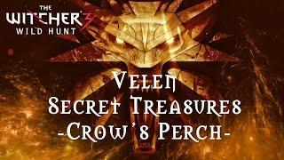 getlinkyoutube.com-The Witcher 3 - Velen Secret Treasures - Crow's Perch