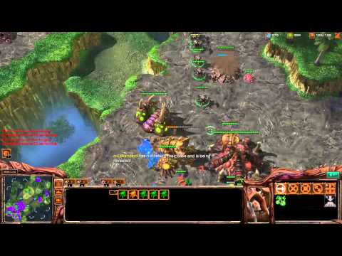 CatZ's Ultralisk Drop Harass - Starcraft 2