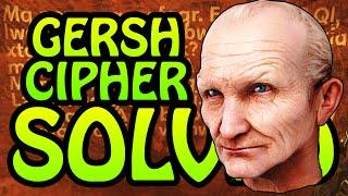 getlinkyoutube.com-GERSH IS BACK!! Zetsubou No Shima GERSH CIPHER SOLVED (Black Ops 3 Zombies Easter Egg Explained)