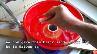 getlinkyoutube.com-My Red Blue Bowl Gold conentrator Test
