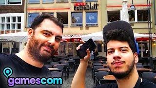 getlinkyoutube.com-GamesCom 2015 | Hike Plays Black Ops 3 & Eats German Food! w/KwebbelKop, Jelly & Slogoman | HIKE IRL