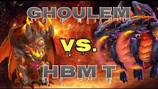 getlinkyoutube.com-Castle Clash Ghoulem VS. HBM T!
