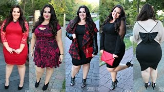 getlinkyoutube.com-Fall Dresses Lookbook |Plus Size Fashion|