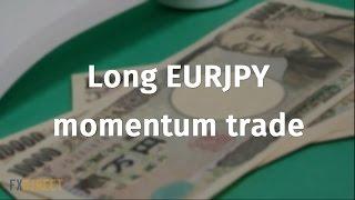 getlinkyoutube.com-Long EURJPY momentum trade