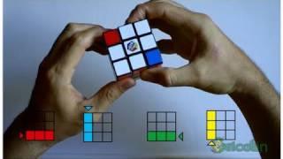 getlinkyoutube.com-Cómo resolver el cubo de Rubik de manera sencilla (parte 1) - HD -Bricolaje y Manualidades