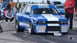 getlinkyoutube.com-BMW E30(Engine E34 M5 TURBO) 750HP vs SUBARU