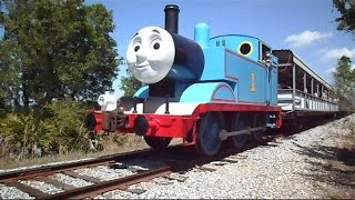 getlinkyoutube.com-Thomas The Train Rolls Over My Camera