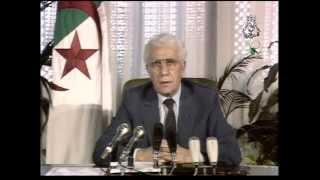Décès de Chadli Bendjedid وفاة الرئيس الجزائري الشاذلي بن جديد