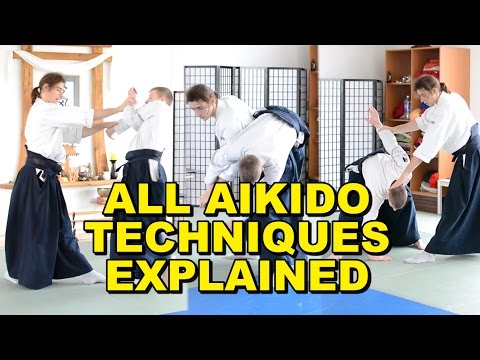 [Aikido Tutorial] All Techniques Introduced