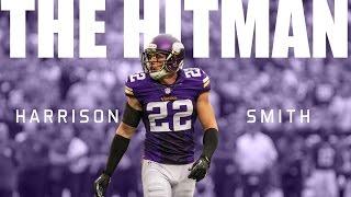 "getlinkyoutube.com-Harrison Smith || ""The Hitman"" ᴴᴰ || Vikings Career Highlights"