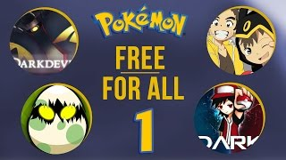 Pokemon Wi fi Battle - Poketonx, ThePokedark97, DarkDevil