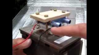 getlinkyoutube.com-Part 4 - Super Cool Box Project; water cooled peltier set-up