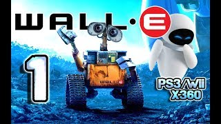 getlinkyoutube.com-Wall-E Walkthrough Part 1 (PS3, X360, Wii) Level 1 ~ Welcome to Earth