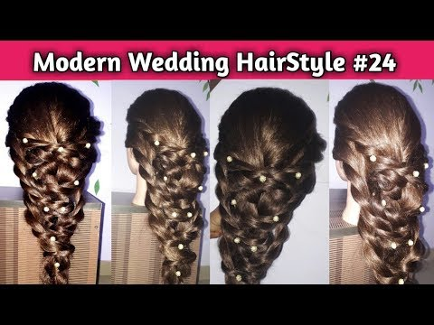 Download Thumbnail For Modern Trending Wedding Hairstyle 2k19 Video