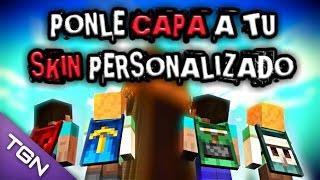 getlinkyoutube.com-Poner CAPA a tu SKIN PERSONALIZADO | MINECRAFT PE 0.16.2 (2016) Minecraft Pocket Edition