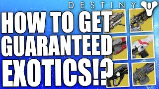 getlinkyoutube.com-Destiny: How To Get Guaranteed Exotic Loot Rewards? (TEST)