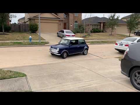 Mini goes off-roading!