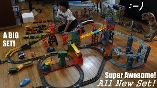 getlinkyoutube.com-All New Thomas & Friends Trackmaster: Mad Dash on Sodor Set Playtime