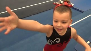 getlinkyoutube.com-Blakely - Second Level 1 Gymnastics Meet