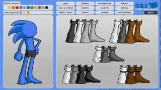 getlinkyoutube.com-How To Make An Original Sonic Fan Character! (PARODY)