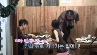 getlinkyoutube.com-111104 high kick 3 Baek Jinhee 'bbong' behind the scenes