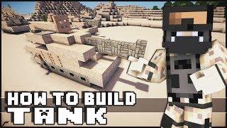 getlinkyoutube.com-► Minecraft : How to Make - Tank