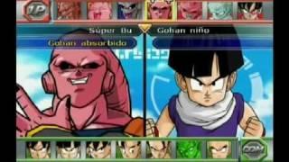 Dragon Ball Z Budokai Tenkaichi 2: Todos Los Personajes