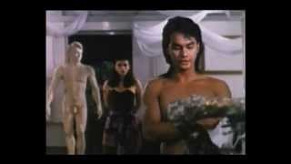 getlinkyoutube.com-Machete 2 (1990) - Hot Male Model To Stone Statue - Clip 1 of 6