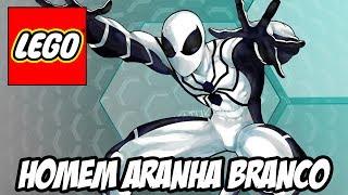 getlinkyoutube.com-Lego Marvel Super Heroes - Homem Aranha Branco