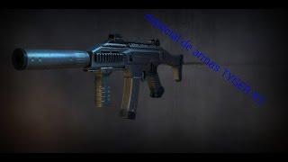 Modern combat 4: especial de armas TYGER X3 - IPAD AIR
