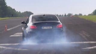BMW M5 5.8L F1 DINAN STROKER 630HP BLACK BEAST! LOUDEST M5 EVER!