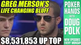 Greg Merson\'s Bold Play at the WSOP Main Event