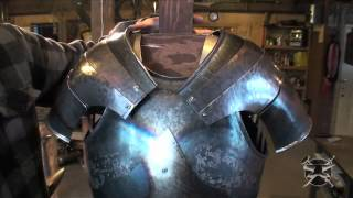 getlinkyoutube.com-Fabrication d'armure médiévale Making of medieval armor #17