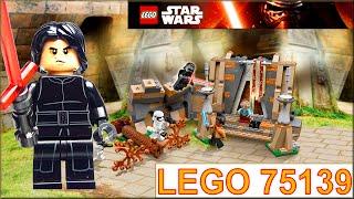 getlinkyoutube.com-Lego Star Wars 75139 Лего Звездные Войны Битва на планете Такодана Обзор. Battle on Takodana