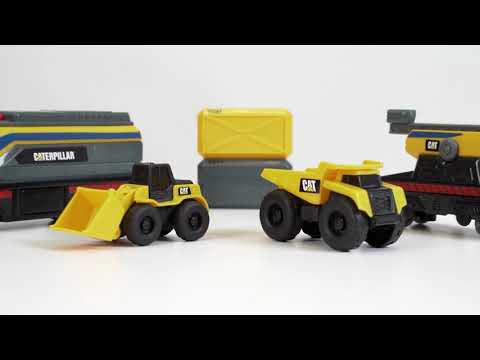 Cat Little Machines Train Set