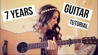 getlinkyoutube.com-7 Years - Lukas Graham // Guitar Tutorial // Easy Chords
